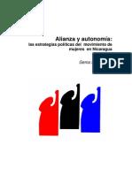 Alianza y Autonimía Gema Santamaría