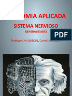 ANATOMIA APLICADA 11º SISTEMA NERVIOSO GENERALIDADES