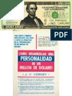 Como Desarrollar Una Personal Id Ad de Un Millon de Dolares
