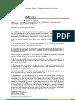 C16 PROCESO DE ELECCIÓN DE PRESIDENTE, SECRETARIO Y TESORERO DE LA J.D.