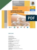 Plan de estudios de AdminisTracion de Recursos Humanos (nuevos)