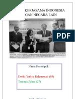 Kliping Kerjasama Indonesia Dengan Negara Lain