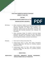 PP No. 72 Th 1998 Ttg Pengamanan Sediaan Farmasi Dan Alat Kesehatan