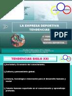 EMPRESAS DEPORTIVAS TENDENCIAS