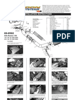 Manual de instalação K&N