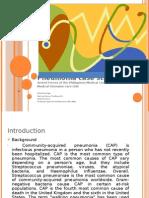 Pneumonia - Powerpoint Design