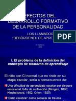 8. Defectos de Adquisicion de Los Sistemas de Codificacion