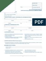 Formulario ISP