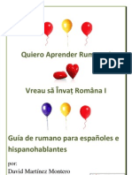 Quiero aprender Rumano 0-30