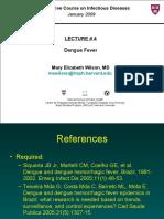 Lecture 4 - Dengue Fever