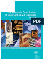The Economic Contribution of Copyright Based Industries Usa