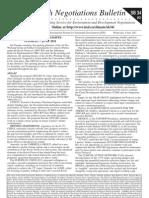 Earth Negotiations Bulleton Issue #3 Vol. 12 No. 504