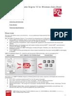 ABBYY Fine Reader Engine10 Data Sheet