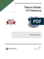 API Titanium Module