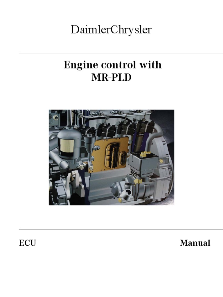 pld manual mercedes injectors fuel system throttle diesel engine rh es scribd com Customer Training Manual Training Guide