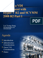 Building a VDI Environment With Hyper-V R2 and SCVMM 2008 R2 Part 1