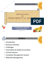 Railway Food Safety