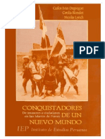 DEGREGORI, BLONDET, LYNCH - Conquistadores de un nuevo mundo. De invasores a ciudadanos en San Martín de Porres