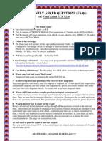 Faqs Final Exam Ecf 9210_s1 May2011