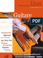 catalogo guitarra