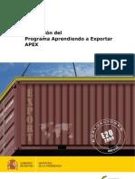 Informe APEX - Aprendiendo a Exportar