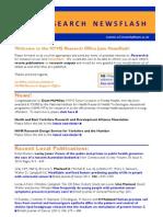 HYMS Research Newsflash - June 2011