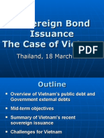 Sovereign Bond Issuance - The Case of Viet Nam
