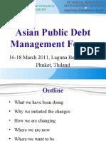 Asian Public Debt Management Forum