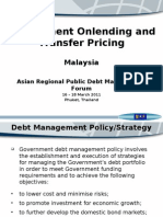 Government Onlending andTransfer Pricing - Malaysia
