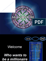 Digestion & Respiration Millionaire Quiz