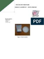 FISĂ DE DOCUMENTARE - Analiza senzoriala a zaharului