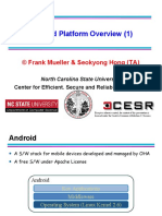 Android Platform Overview[1]
