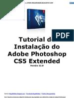 Tutorial de Instalação do Adobe Photoshop CS5 Extended V.12.0