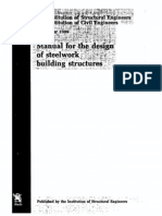 Eurocode 3 Manual for the Design of Steelwork Building Structures (November 1989)