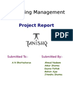 MM Project on Tanishq