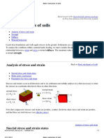 Basic Mechanics of Soils