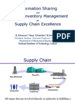 Impact of Information Sharing on Supply Chain