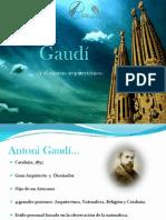 Gaudí y el espacio arquitectonico