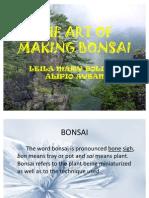 The Art of Making Bonsai 2