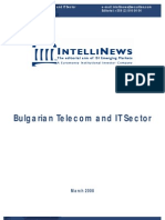 Bulgaria Telecoms Apr 2008