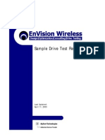 Sample Drive Test Report