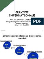 Comert Intern Cu Servicii