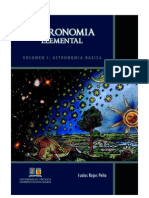 Astronomía Elemental Volumen I - Astronomia Basica