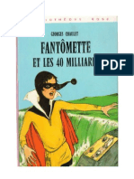 Fantomette Et Les 40 Milliards Georges Chaulet