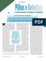 Pilhas e Baterias - Funcionamento e Impacto Ambiental