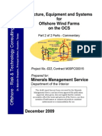 Structure Equipment and Systems for Offshore Wind Farms
