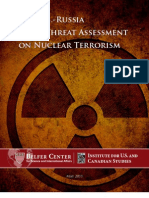 US RUSSIA Joint Threat Assessment