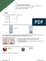 Preparacion examen 1º año - volumen
