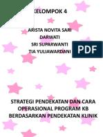 Strategi n Pendekatan Klinik KB