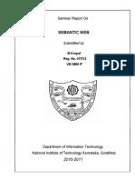 Semantic Web Report